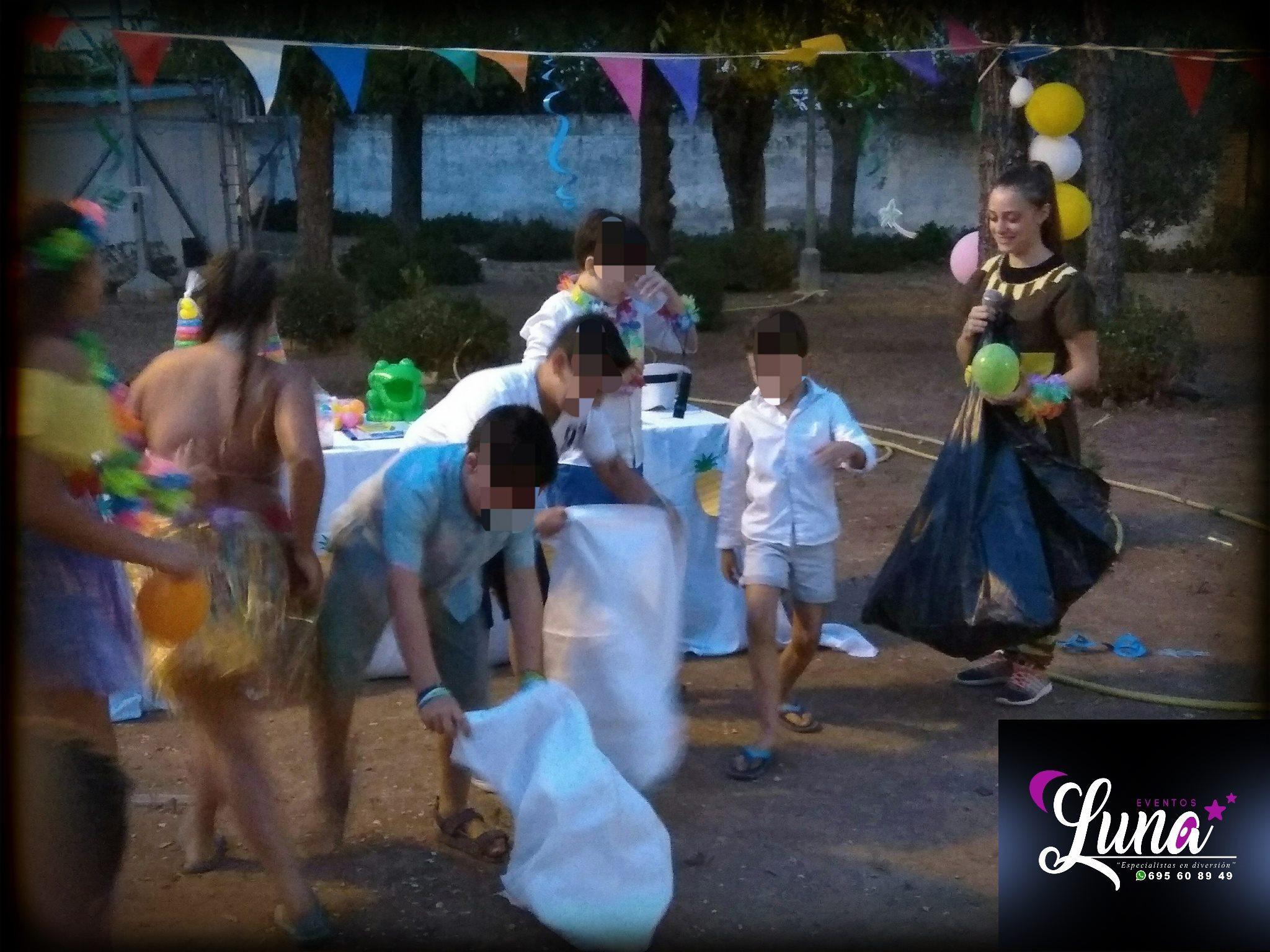 animación infantil bodas