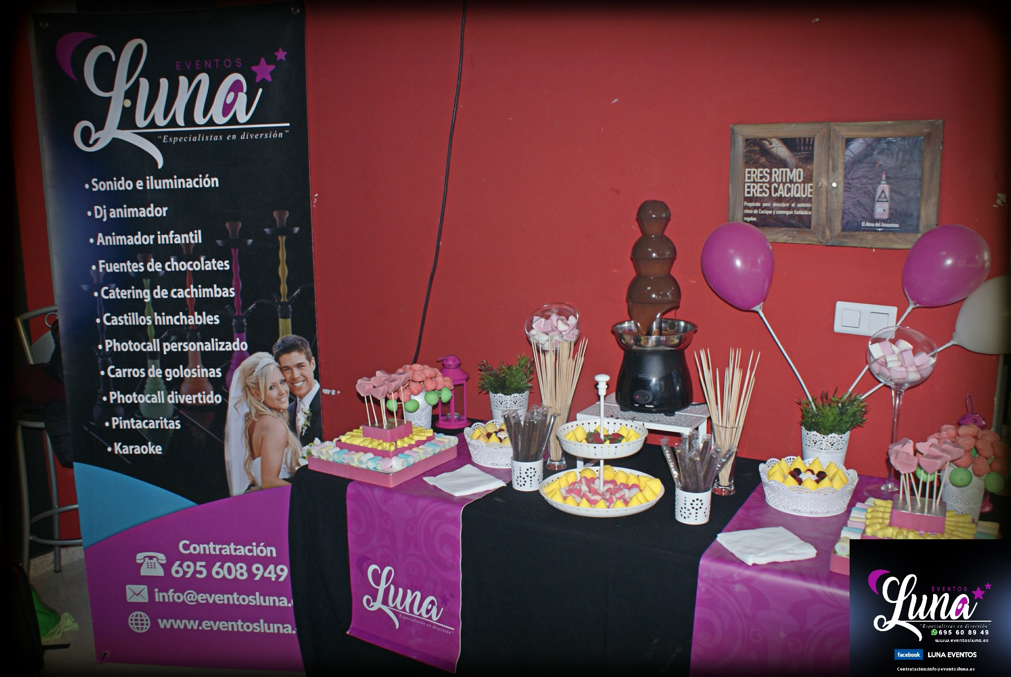 Mesa dulces cumpleaños