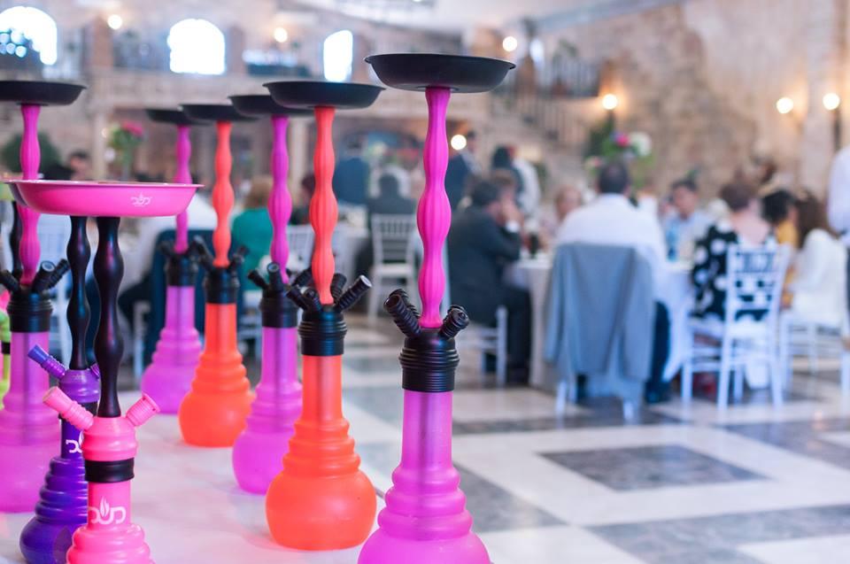 Catering de cachimbas bodas