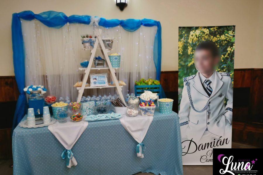 Mesa dulce para comuniones